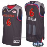 Maglia All Star 2017 Los Angeles Clippers DeAndre Jordan #6 Nero