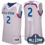 Maglia All Star 2017 Washington Wizards John Wall #2 Grigio