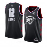 Maglia All Star 2019 Oklahoma City Thunder Steven Adams #12 Nero