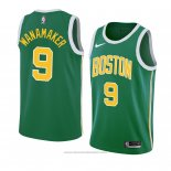 Maglia Boston Celtics Bradley Wanamaker #9 Earned 2018-19 Verde