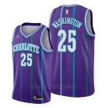 Maglia Charlotte Hornets P. J. Washington #25 Statement Edition Viola