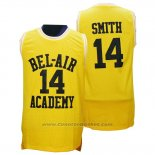 Maglia Film Bel-Air Academy Smith #14 Giallo