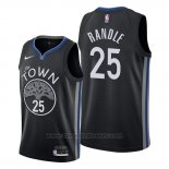 Maglia Golden State Warriors Chasson Randle #25 Citta 2020 Nero