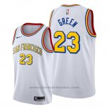 Maglia Golden State Warriors Draymond Green #23 Classic Edition 2019-20 Bianco