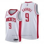 Maglia Houston Rockets Demarre Carroll #9 Association 2019-20 Bianco