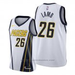Maglia Indiana Pacers Jeremy Lamb #26 Earned Bianco