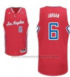 Maglia Los Angeles Clippers DeAndre Jordan #6 Rosso