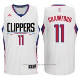 Maglia Los Angeles Clippers Jamal Crawford #11 Bianco