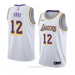 Maglia Los Angeles Lakers Channing Frye #12 Association 2018-19 Bianco