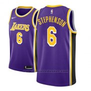 Maglia Los Angeles Lakers Lance Stephenson #6 Statement 2018-19 Viola