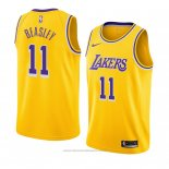Maglia Los Angeles Lakers Michael Beasley #11 Icon 2018-19 Giallo