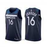 Maglia Minnesota Timberwolves James Johnson #16 Icon Blu