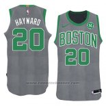 Maglia Natale 2018 Boston Celtics Gordon Hayward #20 Verde