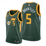 Maglia Utah Jazz Jarrell Brantley #5 Earned 2019-20 Verde