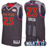 Maglia All Star 2017 Golden State Warriors Draymond Green #23 Nero