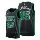 Maglia Boston Celtics Romeo Langford #45 Statement 2019-20 Nero
