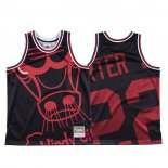 Maglia Chicago Bulls Otto Porter Jr. #22 Mitchell & Ness Big Face Nero