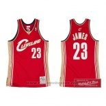 Maglia Cleveland Cavaliers Lebron James Rosso