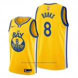Maglia Golden State Warriors Alec Burks #8 Statement The Bay Or