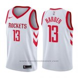 Maglia Houston Rockets James Harden #13 Association 2019 Bianco