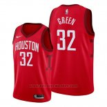 Maglia Houston Rockets Jeff Green #32 Earned 2019-20 Rosso