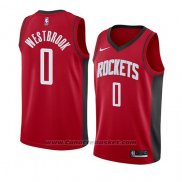 Maglia Houston Rockets Russell Westbrook #0 Icon 2019-20 Rosso