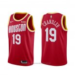 Maglia Houston Rockets Tyson Chandler #19 Classic Rosso