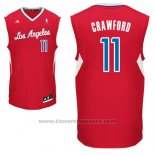 Maglia Los Angeles Clippers Jamal Crawford #11 Rosso