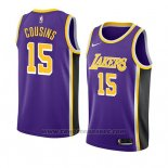 Maglia Los Angeles Lakers Demarcus Cousins #15 Statement 2019-20 Viola