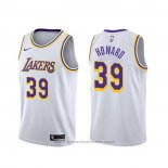 Maglia Los Angeles Lakers Dwight Howard #39 Association 2019-20 Bianco