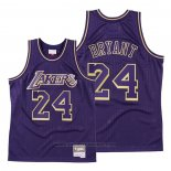 Maglia Los Angeles Lakers Kobe Bryant #24 2020 Chinese New Year Throwback Viola