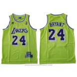 Maglia Los Angeles Lakers Kobe Bryant #24 Verde