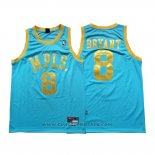 Maglia Los Angeles Lakers Kobe Bryant #8 Blu