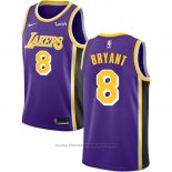 Maglia Los Angeles Lakers Kobe Bryant #8 Statement Viola