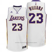 Maglia Los Angeles Lakers Lou Williams #23 Bianco