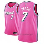 Maglia Miami Heat Goran Dragic #7 Earned 2018-19 Rosa