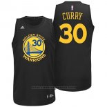 Maglia Moda Nero Golden State Warriors Stephen Curry #30 Nero