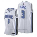 Maglia Orlando Magic Chuma Okeke #3 Association 2019-20 Bianco