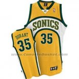 Maglia Seattle SuperSonics Kevin Durant #35 Historic Giallo