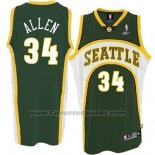 Maglia Seattle SuperSonics Ray Allen #34 Historic Verde