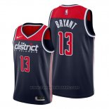 Maglia Washington Wizards Thomas Bryant #13 Statement Edition Blu