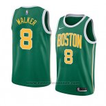 Maglia Boston Celtics Kemba Walker #8 Earned 2019-20 Verde