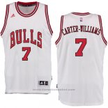 Maglia Chicago Bulls Michael Carter-Williams #7 Bianco