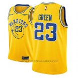 Maglia Golden State Warriors Draymond Green #23 2018-19 Or