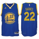 Maglia Golden State Warriors Harrison Barnes #22 Blu