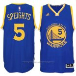 Maglia Golden State Warriors Marreese Speights #5 Blu