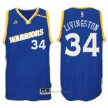 Maglia Golden State Warriors Shaun Livingston #34 Blu