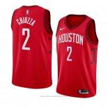 Maglia Houston Rockets Chris Chiozza #2 Earned 2018-19 Rosso