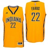 Maglia Indiana Pacers Jawun Evans #22 Giallo