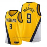 Maglia Indiana Pacers T.j. Mcconnell #9 Statement Edition Giallo